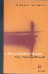 Is There a Sabbath for Thought?: Between Religion and Philosophy (Perspectives in Continental Philosophy)