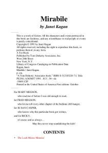 Janet Kagan - Mirabile