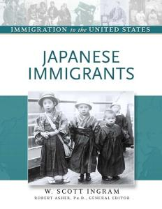 Japanese Immigrants (Immigration to the United States)