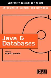 Java & Databases (Innovative Technology Series)