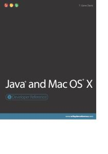 Java and Mac OS X