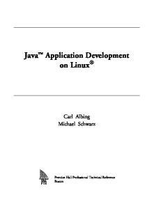 Java (TM) Application Development on Linux (R)
