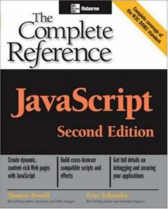 JavaScript 2.0. The Complete Reference