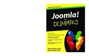 Joomla! For Dummies (For Dummies (Computer Tech))