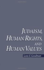 Judaism, human rights, and human values
