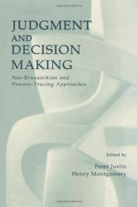 the psychology of judgment and decision making pdf free download