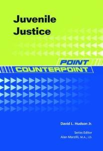 Juvenile Justice (Point Counterpoint) - 2nd edition