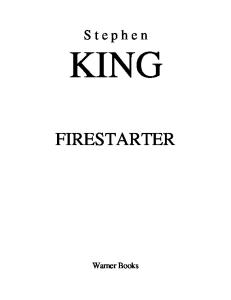 King, Stephen - Firestarter (1980)