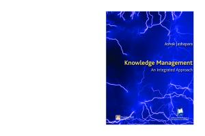 Knowledge Management: An Integral Approach