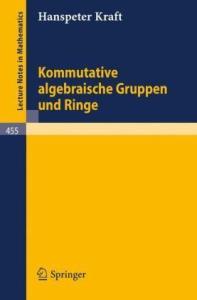 Kommutative algebraische Gruppen und Ringe