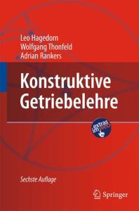 Konstruktive Getriebelehre, 6. Auflage