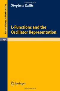 L-Functions and the Oscillator Representation