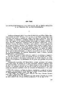 La Batracomiomaquia Y El Crotalon De La Epica Burlesca A La Parodia De La Historiografia