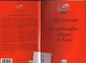 LA Philosophie Critique De Kant