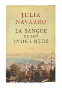 La sangre de los inocentes  The Blood of the Innocents (Spanish Edition)