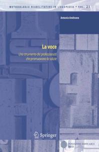 La voce: Uno strumento dei professionisti che promuovono la salute