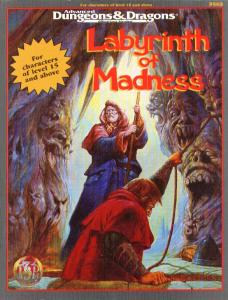 Labyrinth of Madness (Advanced Dungeons & Dragons Fantasy Roleplaying Adventure)