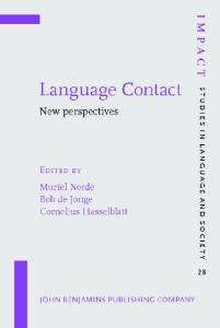 Language Contact: New perspectives