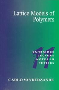 Lattice Models of Polymers (Cambridge Lecture Notes in Physics)