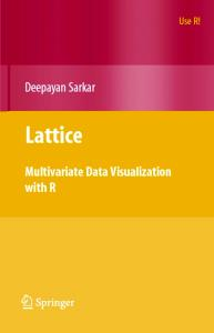 Lattice: Multivariate Data Visualization with R