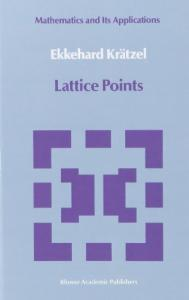 Lattice Points (Mathematics and its Applications)