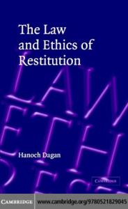 Law and ethics restitution