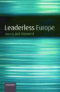Leaderless Europe