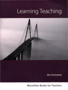 Learning Teaching: A Guidebook for English Language Teachers