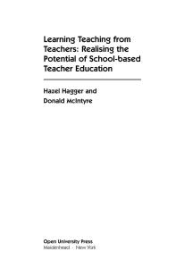 Learning Teaching from Teachers (Developing Teacher Education)