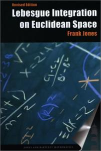 Lebesgue Integration on Euclidean Space