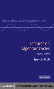 Lectures on algebraic cycles