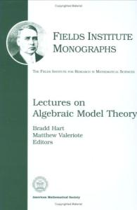 Lectures on algebraic model theory