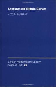 Lectures on Elliptic Curves (London Mathematical Society Student Texts)