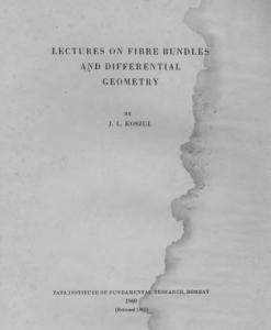 Lectures on Fibre Bundles and Differential Geometry