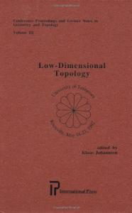 Lectures on low-dimensional topology