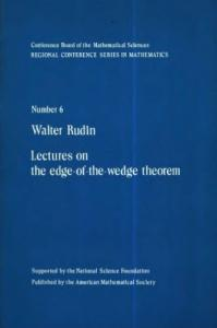 Lectures on the Edge of the Wedge theorem