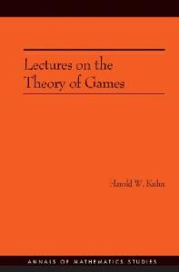 Lectures on the theory of games
