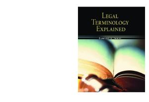 Legal Terminology Explained
