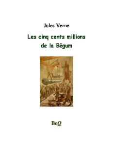 Les Cinq cents millions de la Begum