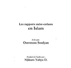 Les rapports mere-enfant en Islam