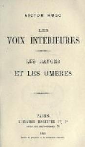 Les Rayons et les Ombres (Roman)