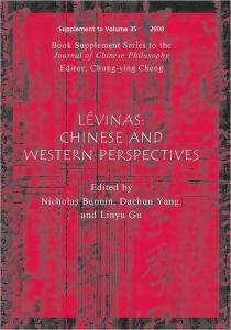 Lévinas: Chinese and Western Perspectives (Journal of Chinese Philosophy Supplement)