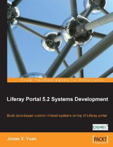 Liferay Portal 5.2 Systems Development