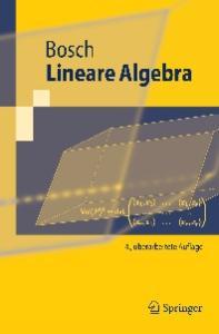 Lineare Algebra (Springer-Lehrbuch) (German Edition)