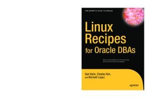 Linux Recipes for Oracle DBAs