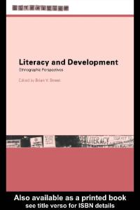 Literacy and Development: Ethnographic Perspectives