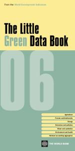Little Green Data Book, 2006  Environmental Conservation & Protection