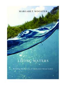 Living Waters: Reading the Rivers of the Lower Great Lakes (Excelsior Editions)