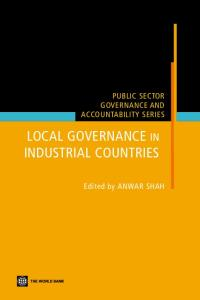 Local Governance in Industrial Countries (Public Sector Governance and Accountability)