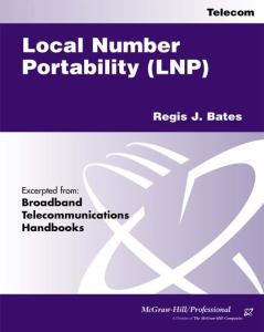 Local Number Portability (Excerpts)
